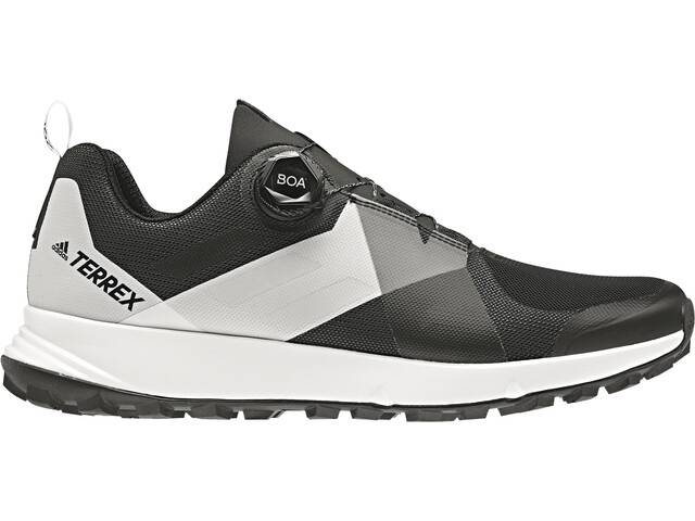 adidas TERREX Two Boa Chaussures de trail Homme, core black/grey four/ftwr white
